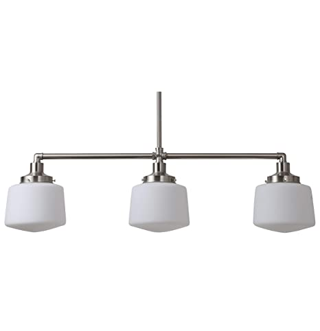 3 pendant light fixture dining room scolare kitchen island light brushed nickel pendant llp4931bn ll