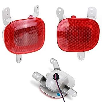 iJDMTOY komplett Set LED Nebelschlussleuchte Light Kit w/High Power ...