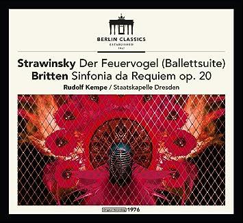 Est1947 Feuervogel Sinfonia Da Requiem Remaster Rudolf Kempe