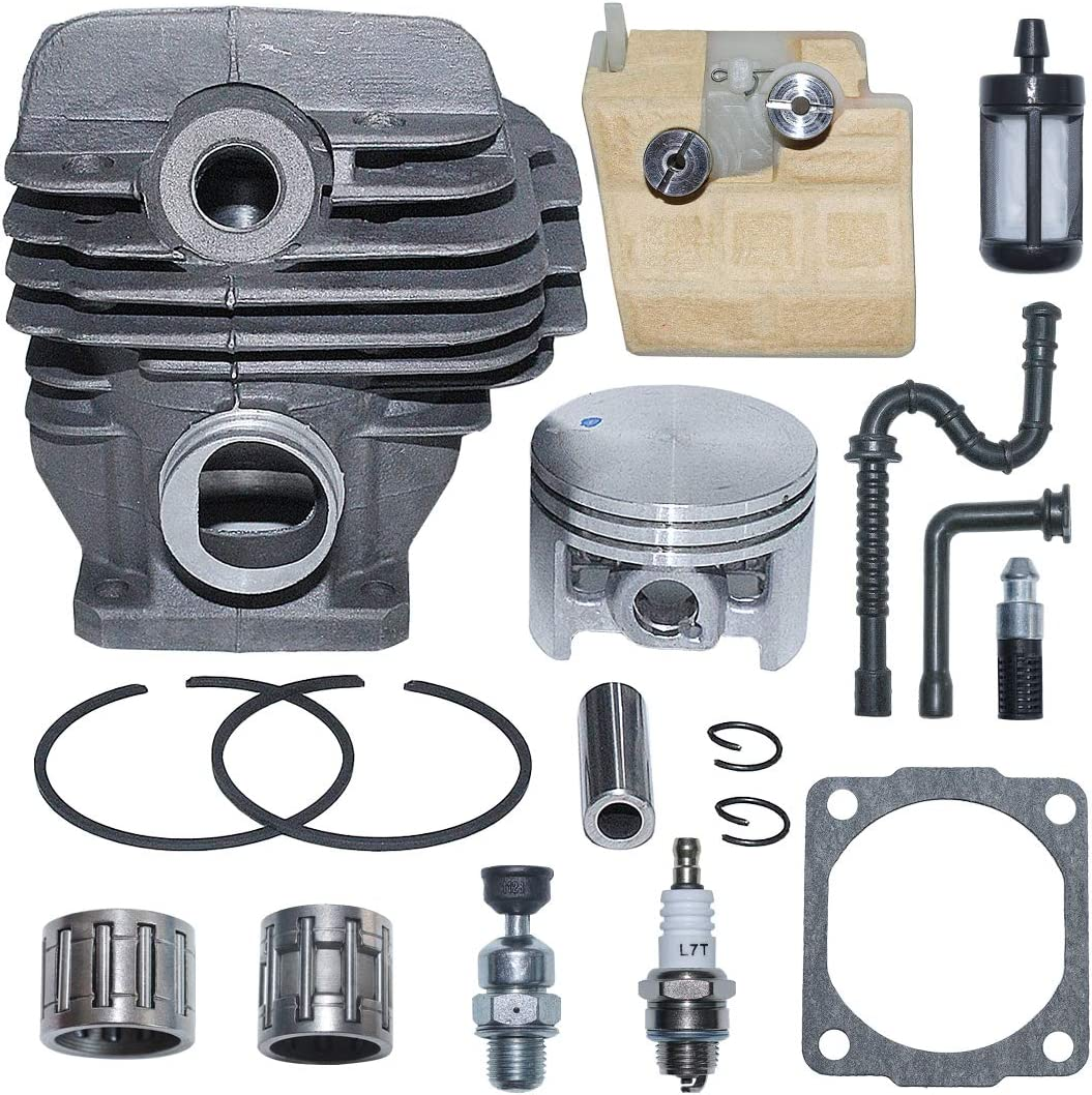 AUMEL 1121 020 1217 44.7mm Cylinder Kit for Stihl Piston MS2 Attention brand 026 New mail order