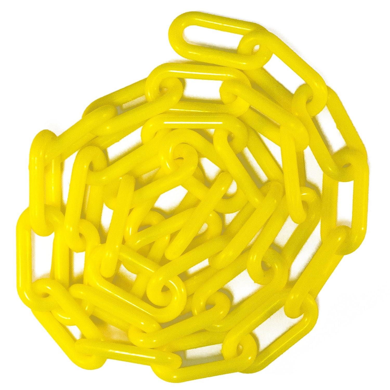 Chain Plastic Barrier Chain Mr Yellow 1.5 Diameter 50 Length
