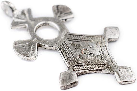 Moorish styles.African vintage Tuareg crosses Antique crosses Antique silver /& Ebony wood crosses