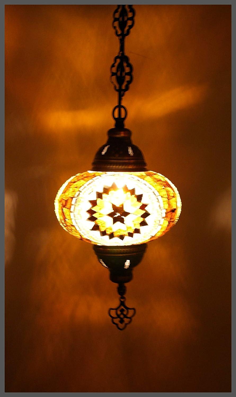Samarkand-Lights - Lámpara de techo, diseño de mosaico ...