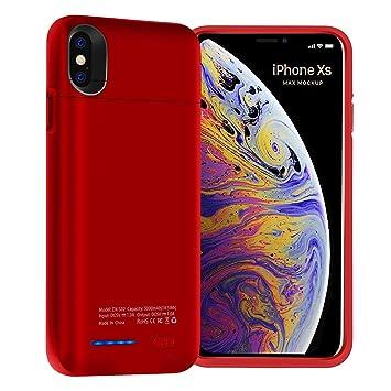 Super Black Bull Estuche de batería para iPhone XS MAX ...