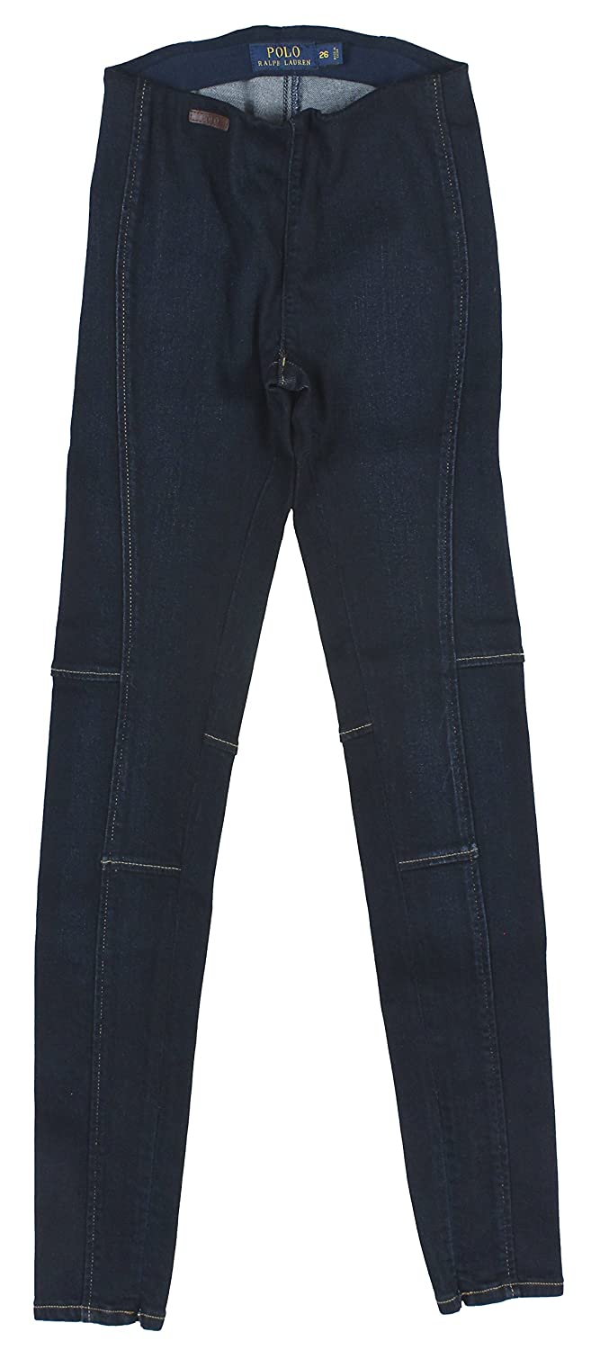 Polo Ralph Lauren Women's Pull-On Denim Leggings Jeans 27 Navy