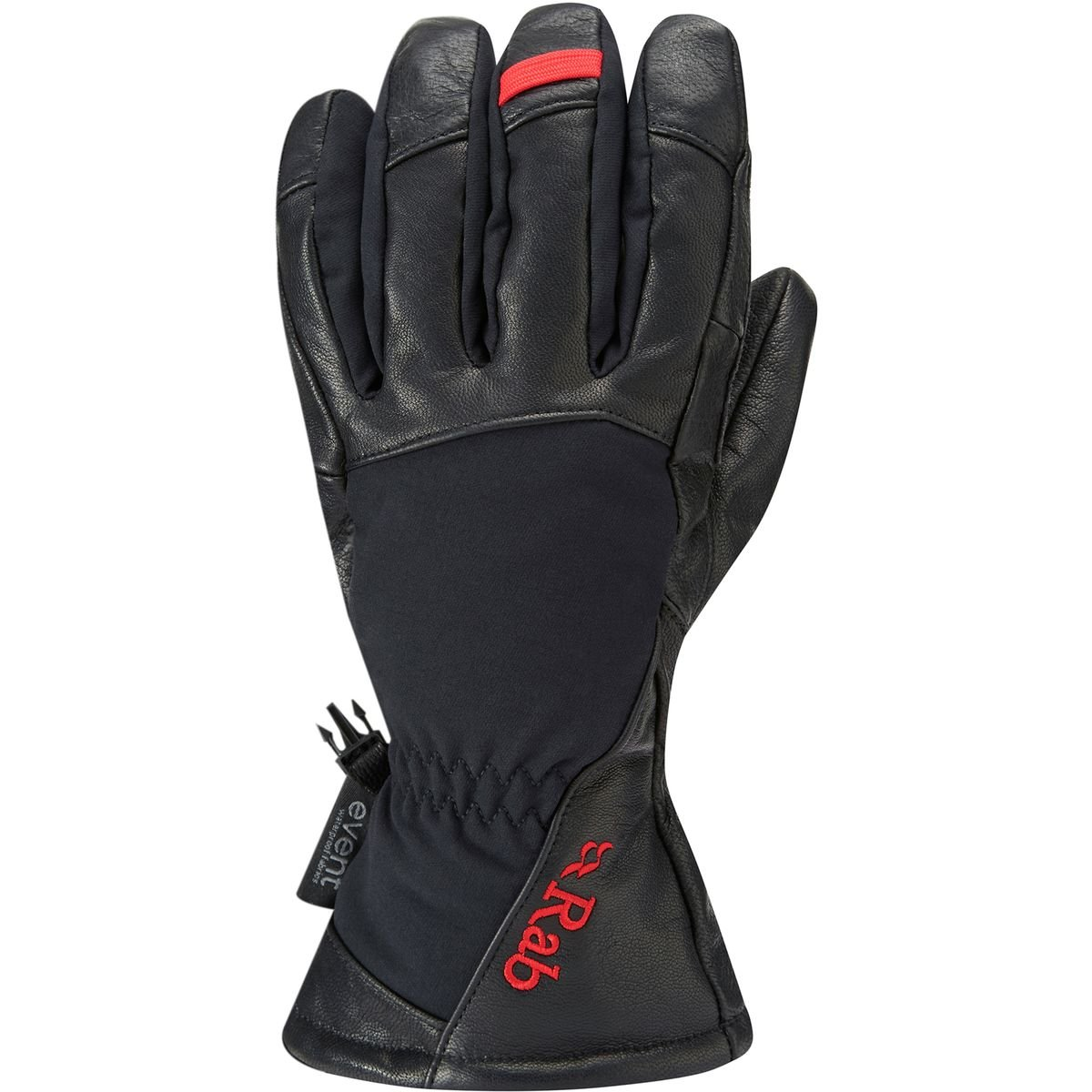 Rab Guide Glove - Men's Black X-Large by RAB