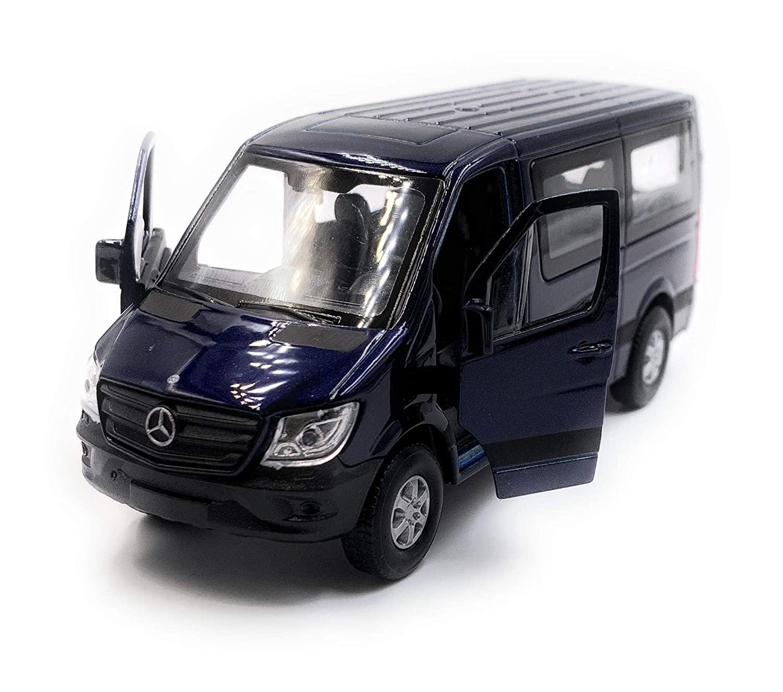 Onlineworld2013 Sprinter Fenster Weiss Modellauto Auto Ma/ßstab 1:34 lizensiert