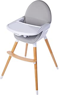 Childcare Pod Timber Highchair Natural