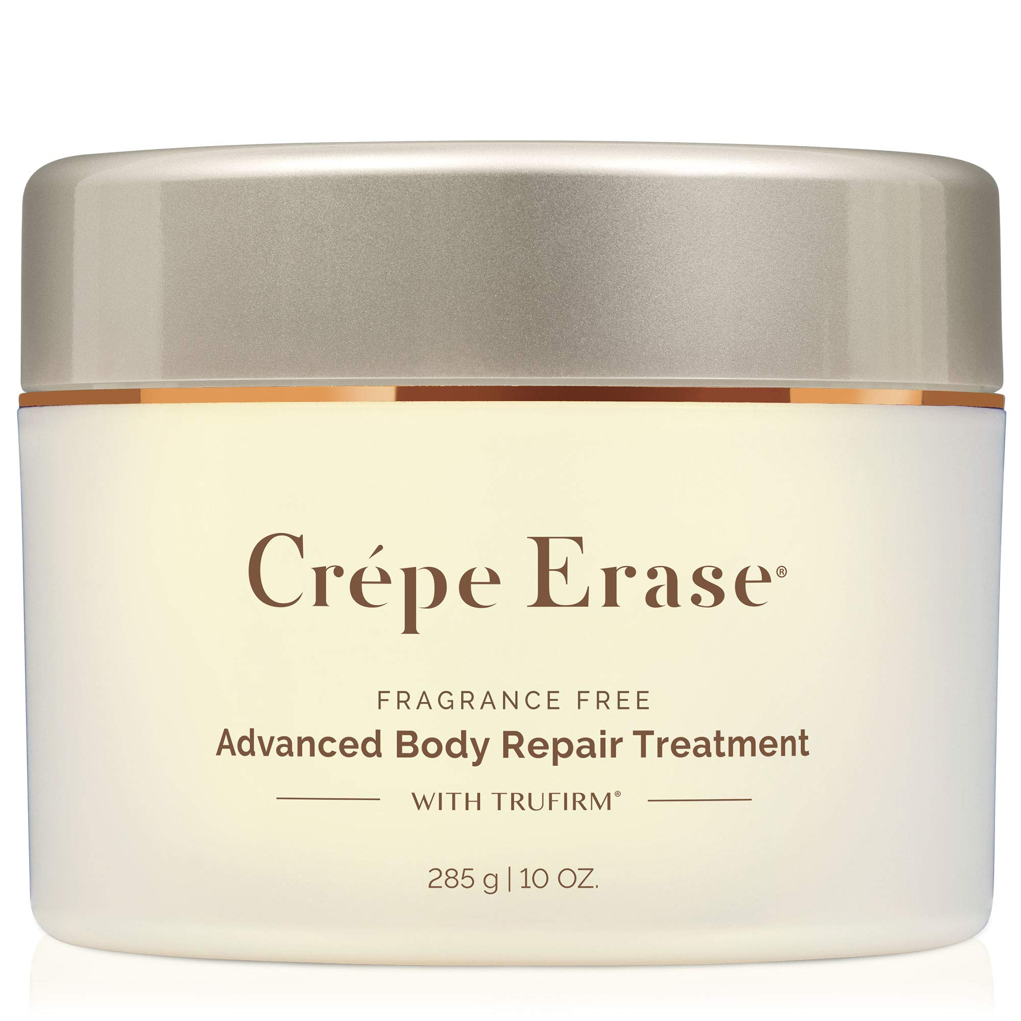 Crépe Erase Advanced - Advanced Body Repair Treatment with Trufirm Complex & 9 Super Hydrators - Fragrance Free - Full Size/10 Ounces