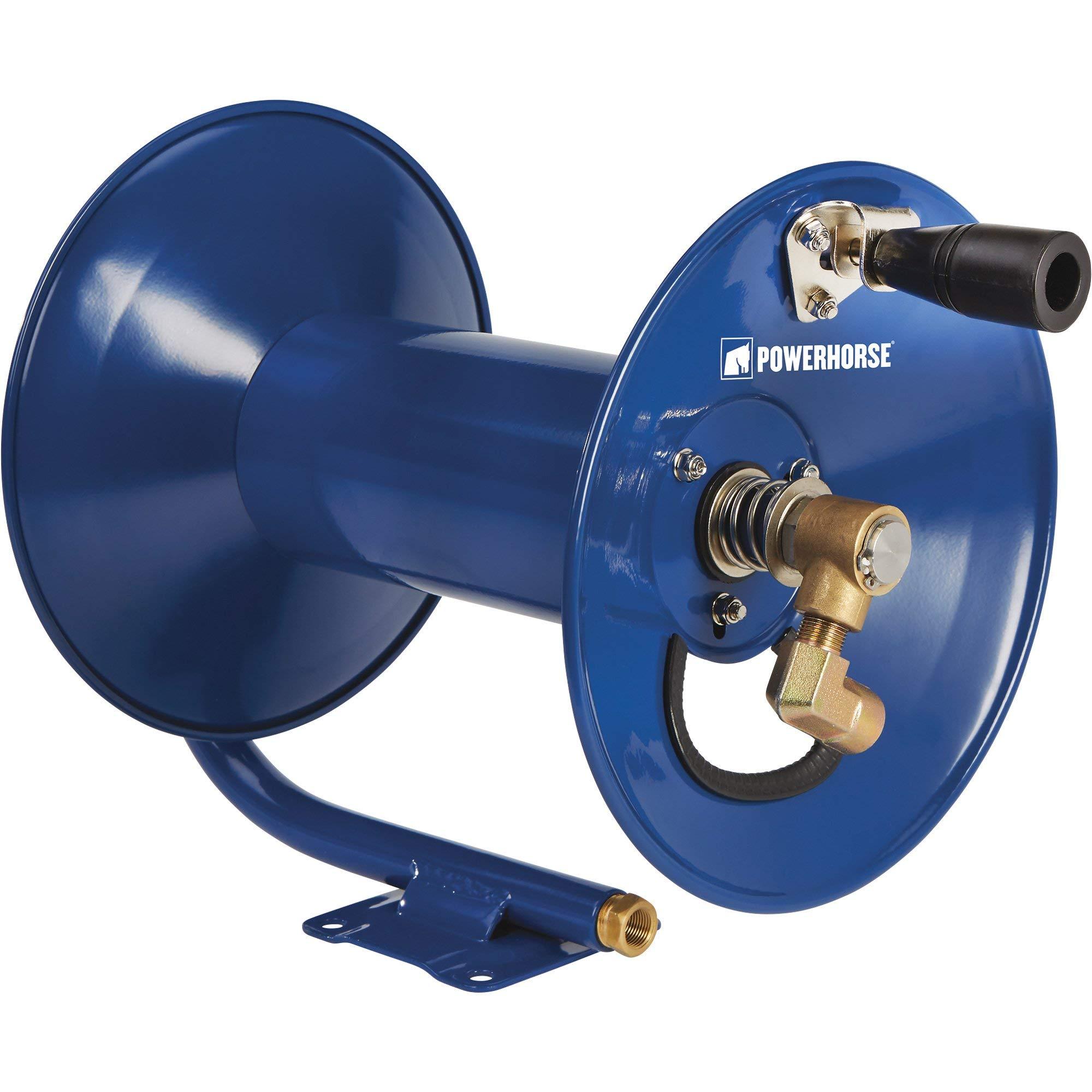 Powerhorse Pressure Washer Hose Reel - 4000 PSI, 100ft. Capacity by Powerhorse