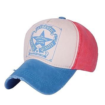 Gorras béisbol, Vintage Star Snapback Unisex Hombre Mujer ...