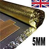 Acoustic Sonic Gold 5mm Laminate Underlay - 3 Roll 45m²