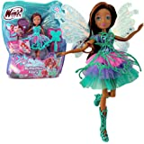 Winx Club - Butterflix Fairy - Layla Aisha Doll 28cm with Magic Robe