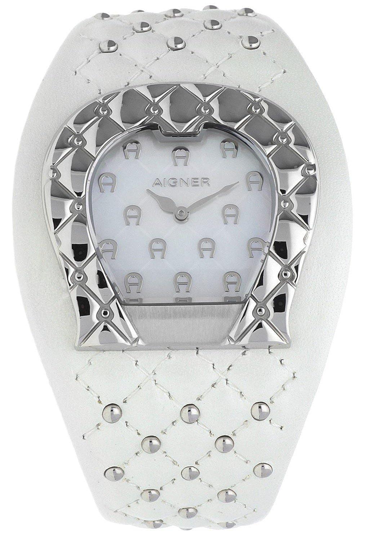 Aigner Damas Reloj L AQUILA Blanco A41214: Amazon.es: Relojes