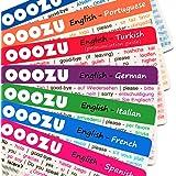 OOOZU Sprachkarten–Spanisch, Französisch, Italienisch, Griechisch, Türkisch, Deutsch & mehr 10 - Czech grün