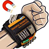 Magnetic Wristband Best DIY Dad Gifts- Gifts Tool for Men Magnetic Tool Wristband with Powerful Magnets, Father…
