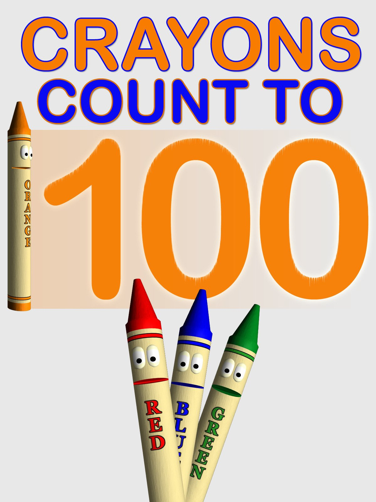 Crayons Count to 100 on Amazon Prime Video UK