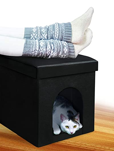 Pet Parade Cushioned Ottoman