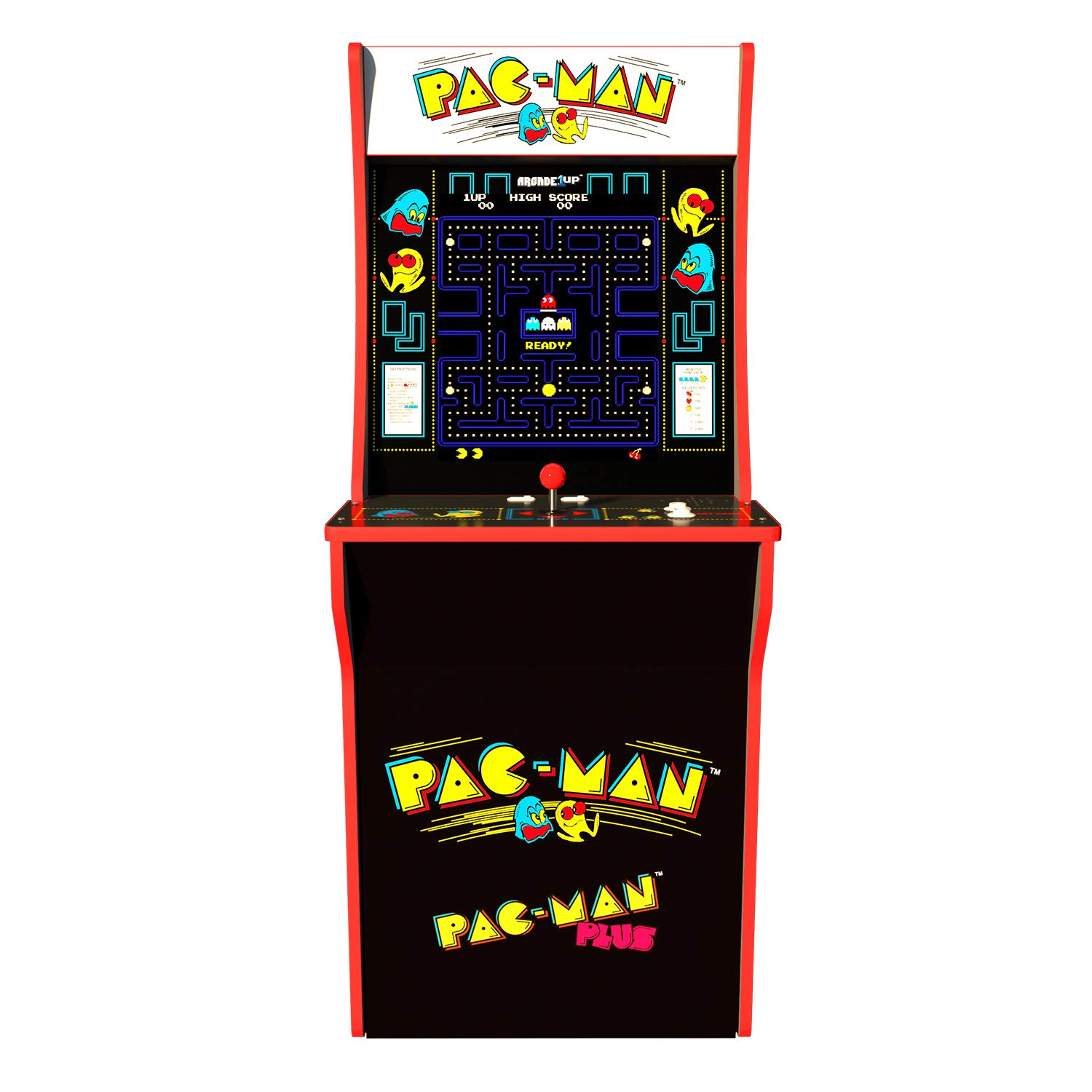Arcade 1Up Pac-Man Deluxe Arcade System with Riser, 5ft by Arcade 1Up (Image #3)