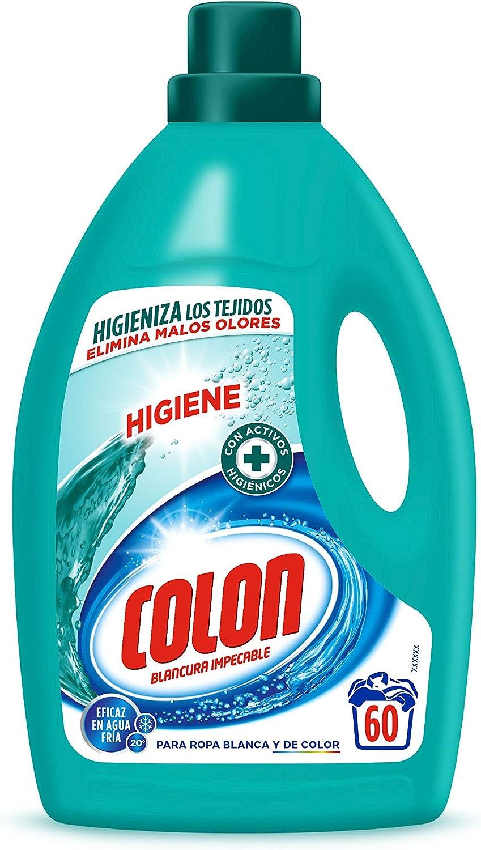Colon Higiene - Detergente para Lavadora con activos higiénicos y ...