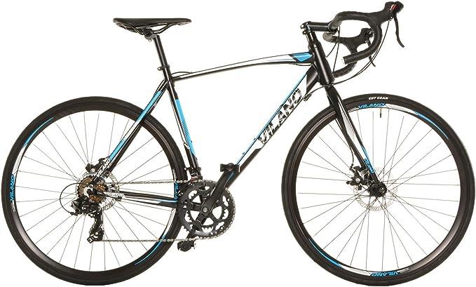 Vilano Sombra 3.0 bicicleta de carretera Shimano Sti integrado cambio 57cm Negro: Amazon.es: Deportes y aire libre