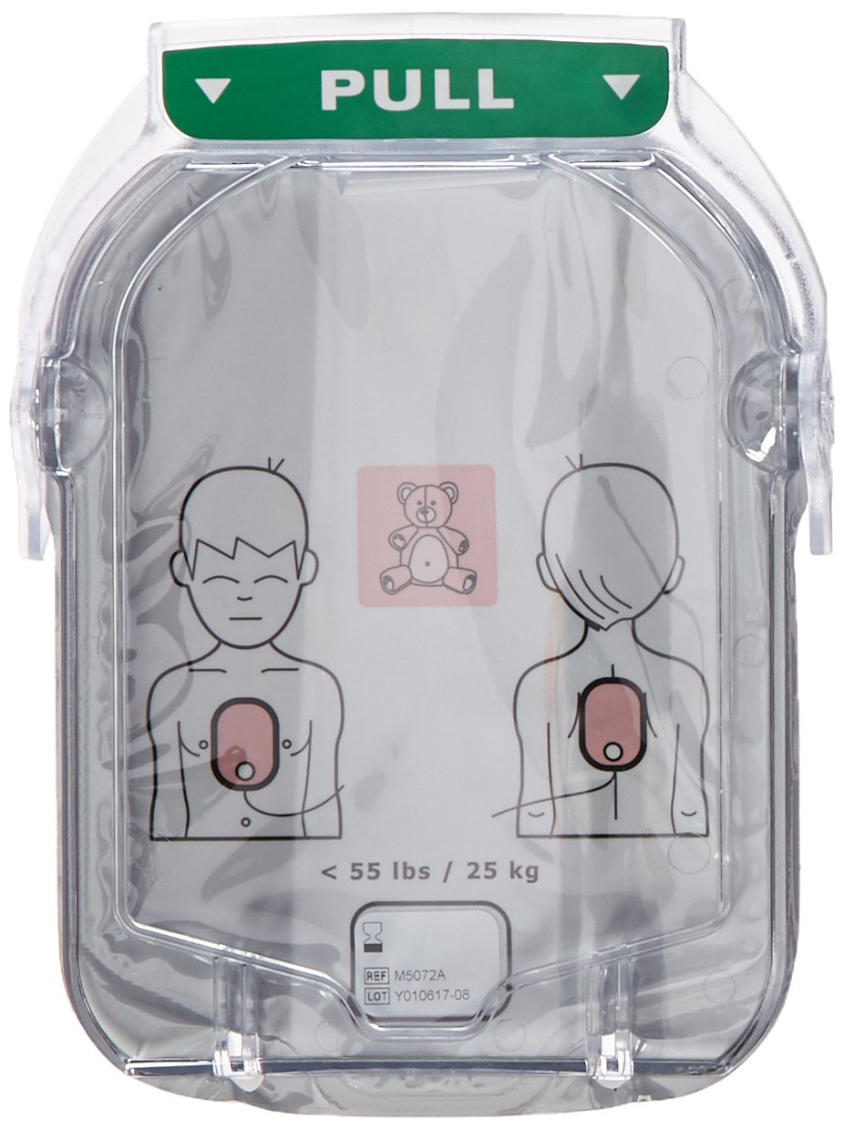 Phillips' Pediatric Infant Child Pads Onsite and Home AED