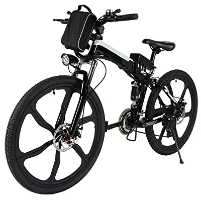 Ferty Folding Electric Moped Sport Mountain Men Bicycle Review