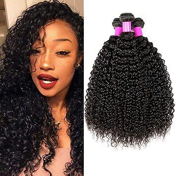 Ur Beautiful 8A Tissage Bresilien Boucle Meches Bresiliennes Cheveux  Naturel Brésilienne Cheveux Bresilien Tissage Cheveux Remy 2d419af394c