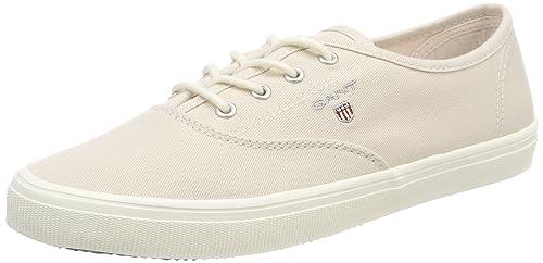 GANT ZOE, Zapatillas para Mujer, Beige (Cream), 37 EU