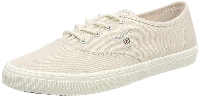 Footwear Damen New Haven Sneaker, Weiß (Bright White), 39 EU GANT