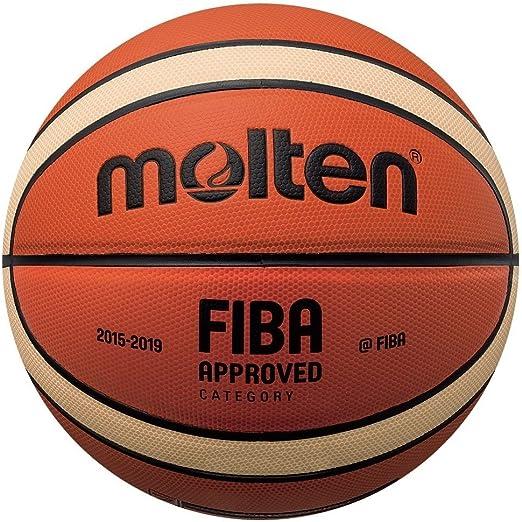 MOLTEN BGMX Balón de Baloncesto, Hombre, Naranja y Marrón Claro ...