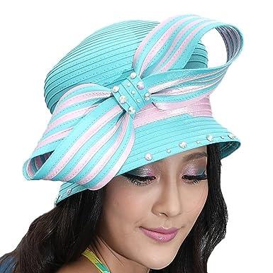 34c8a9d681f ... ireland junes young elegant ladies church hat kentucky derby hats light  pink with 9c87d ec978 ...