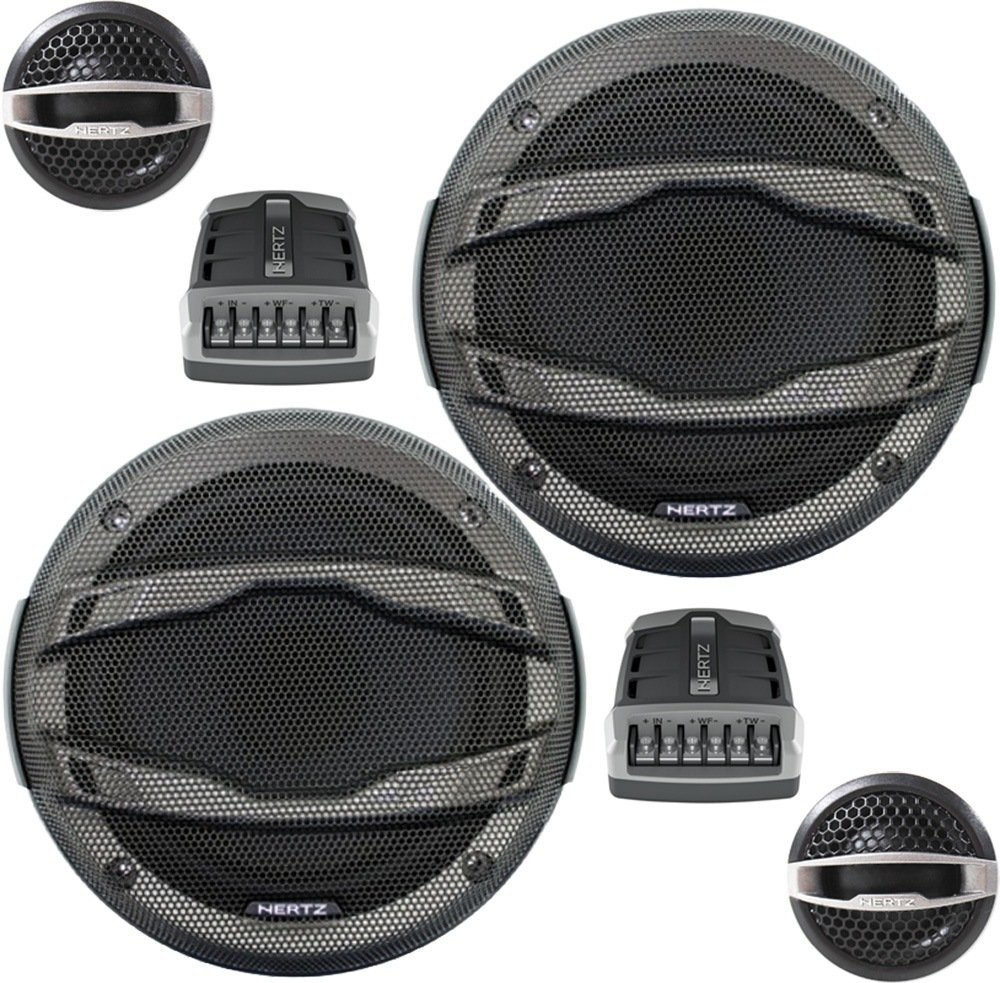 "Hertz HSK 165 6.5"" 2-way Hi-Energy Component Speaker System HSK165"