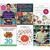 The Doctors Kitchen Eat to Beat Illness, Tasty and Healthy, Healthy Medic Food for Life, Whole Food Healthier Lifestyle Diet, Hidden Healing Powers, Doctors Kitchen 6 Books Collection Set