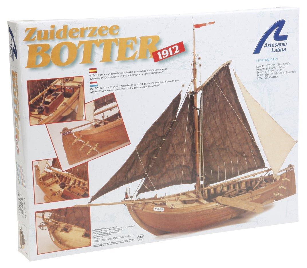 Artesania Latina 22120-1//350 Zuiderzee Botter Wasserfahrzeuge
