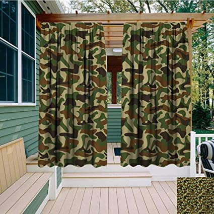 Enjoyable Amazon Com Bybyhome Home Patio Outdoor Curtain Cabin Best Image Libraries Barepthycampuscom
