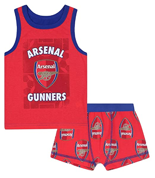 Arsenal FC Official Football Gift Set Boys Socks /& Boxer Shorts