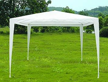 3m x 3m White PE Tarpaulin Like Material Shelter Cover Garden