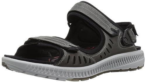 Womens Terra 2s Athletic Sandal, Grey Ecco