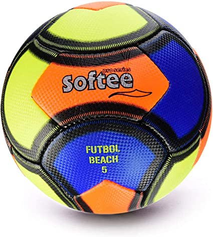 Softee Equipment 0000701 Balón Soccer Beach, Unisex, Blanco, S ...