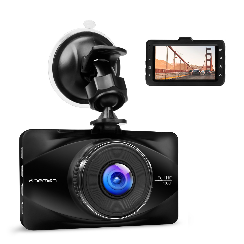 Apeman Full HD p coche Dashcam Grabadora de vídeo con ° Gran