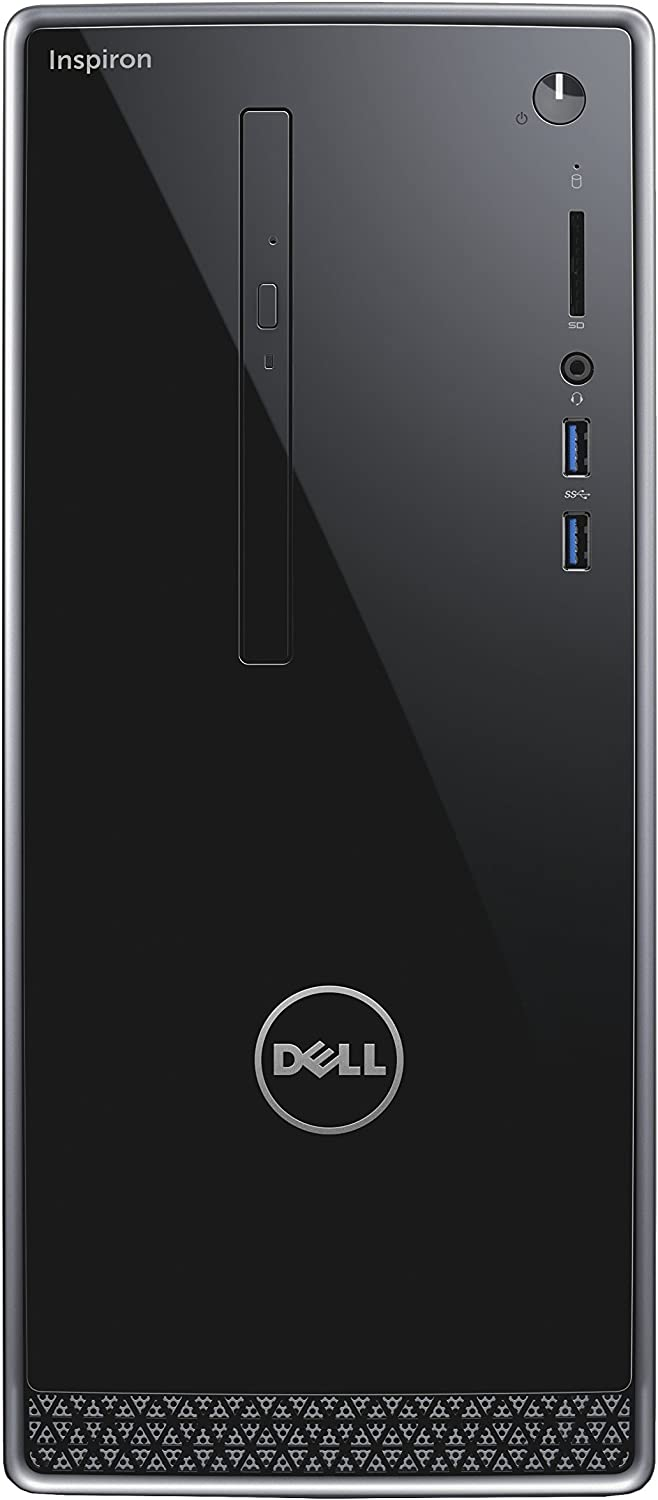 Dell Inspiron 3668 Desktop (Intel Core i7-7700, 16GB Memory, 2 TB HDD, DVD/RW, NVIDIA GeForce GT 730) WIndows 10 Pro (Renewed)