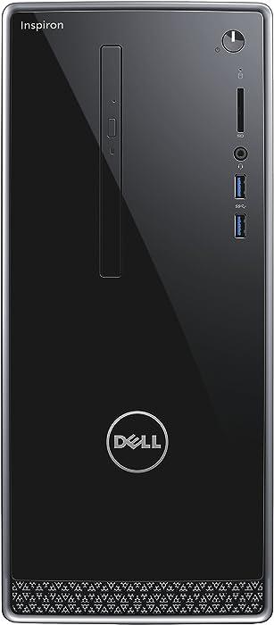 Dell Inspiron 3668 Desktop (Intel Core i7-7700, 16GB Memory, 2 TB HDD, DVD/RW, NVIDIA GeForce GT 730) WIndows 10 Pro (Renewed)