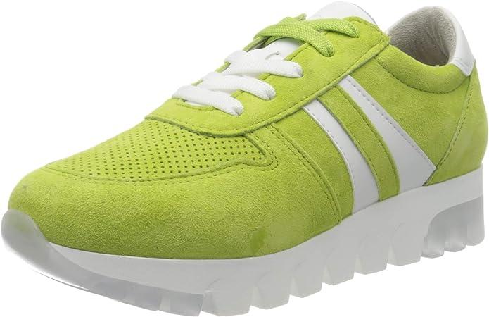 Tamaris Sneakers 23750-24 Damen Apfel Grün Apple Green Suede