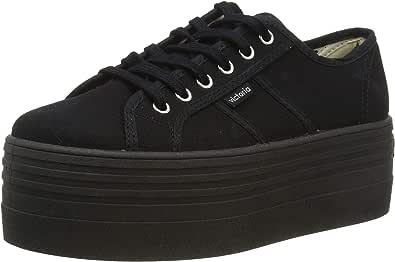Zapatillas de Lona Negras Victoria 1105101