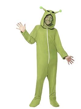 Smiffys 55014S - Disfraz de Alien para niños (unisex, talla S, 4-6 ...