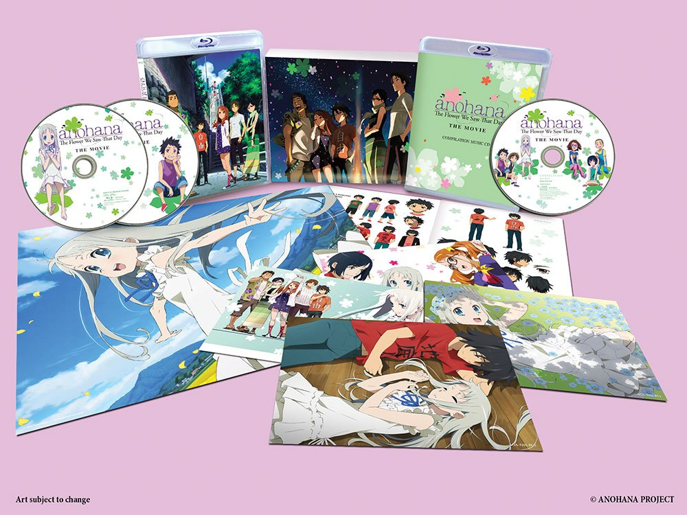 Amazon AnoHana The Flower We Saw That Day The Movie DVD Blu