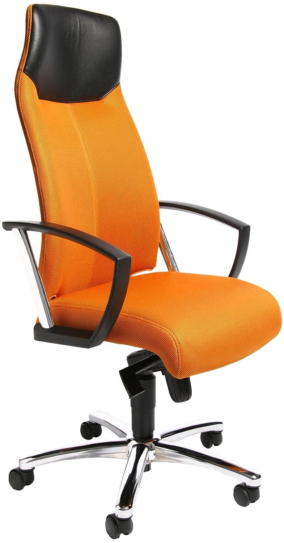 Topstar SU39A BG4 Bürostuhl High Sit up up up orange mit Armlehnen cd2342