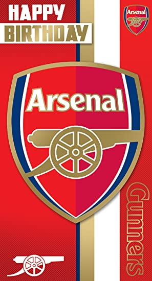 Birthday Card Arsenal F.C