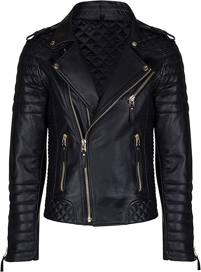 Skin2Fashion Mens Leather Jackets 377